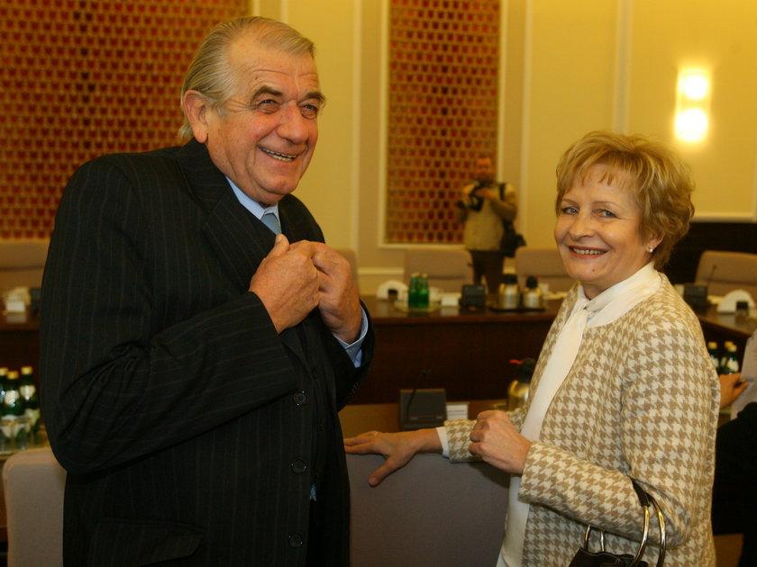 Zbigniew Religa i Zyta Gilowska