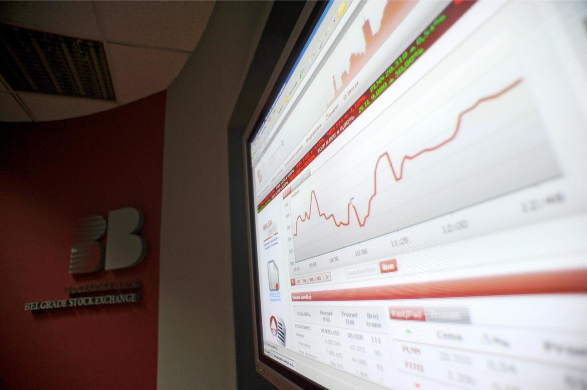 Razgrabljene dinarske obveznice EBRD na Beogradskoj berzi