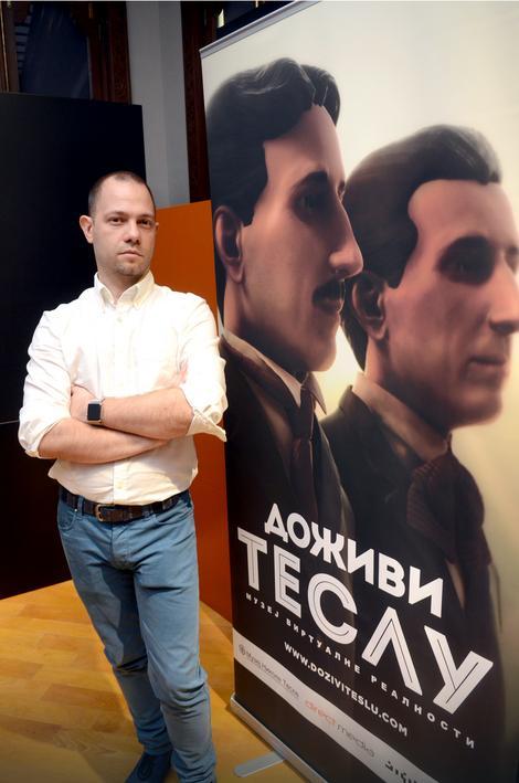 Autor izložbe Vitomir Jevremović