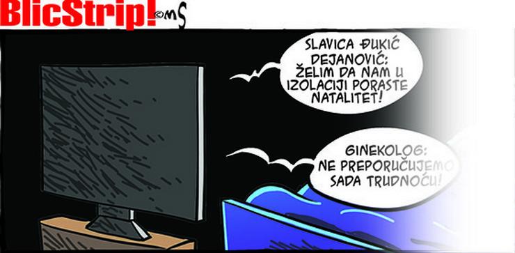 Blic strip Marka Somborca