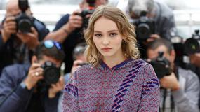 """Lily-Rose Melody Depp na premierze filmu """"La danseuse"""" w Cannes"""
