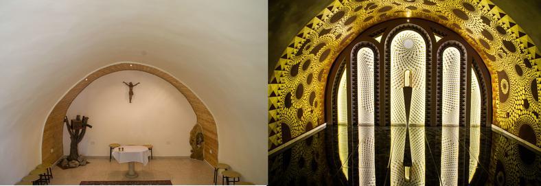 Kaplica sióstr Salezjanek w Jerozolimie. Efekt przed i po zmianach