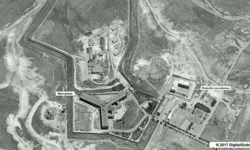 Syria. USA oskarża Syrię o wybudowanie krematorium na terenie Sajdnaja