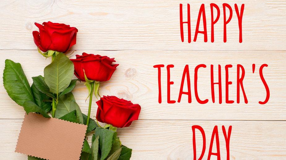 Życzenia na Dzień Nauczyciela — jak pisać?