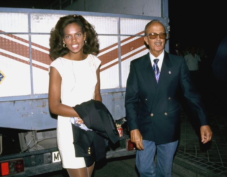 Julio Iglesias Sr.  Con la segunda esposa Rona Keith