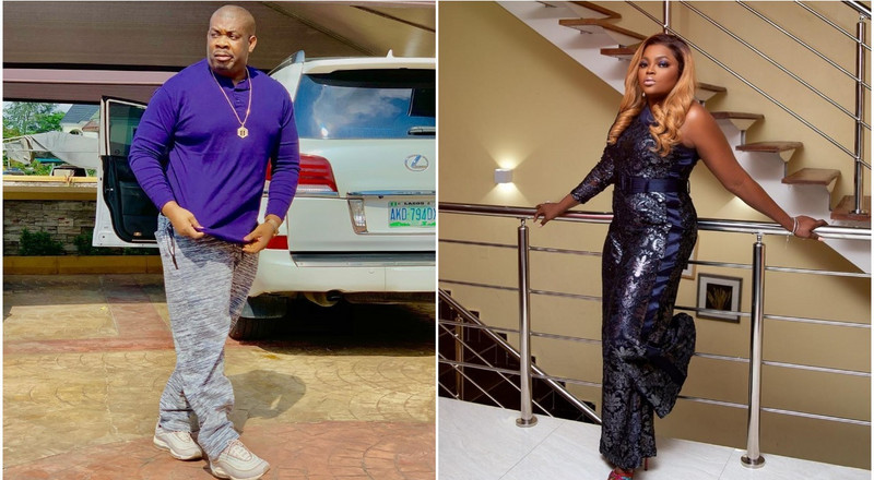 Don Jazzy's heartwarming message to Funke Akindele over recent arrest is the cutest you'd read today