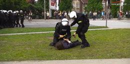 Starcia policji z radykalną prawicą. Zatrzymana córka radnej PiS
