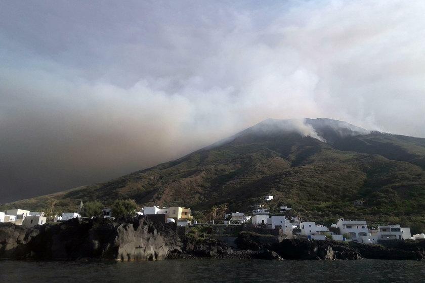 Wybuch wulkanu we Włoszech, jedna osoba nie żyje