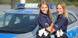 Siostry bliźniaczki w Policji