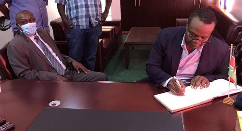 Former Funyula MP Paul Otuoma rejoins ODM ahead of 2022 polls