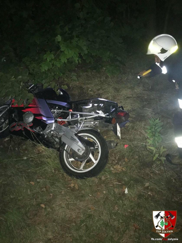 Wypadek w Żołyni