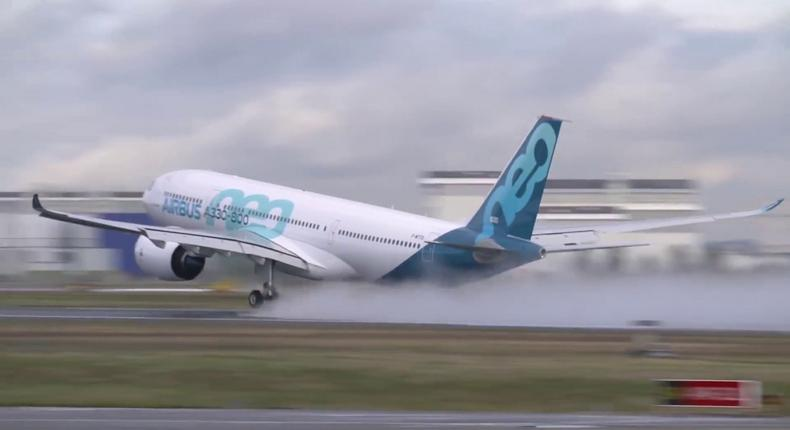 Airbus A330-800neo.