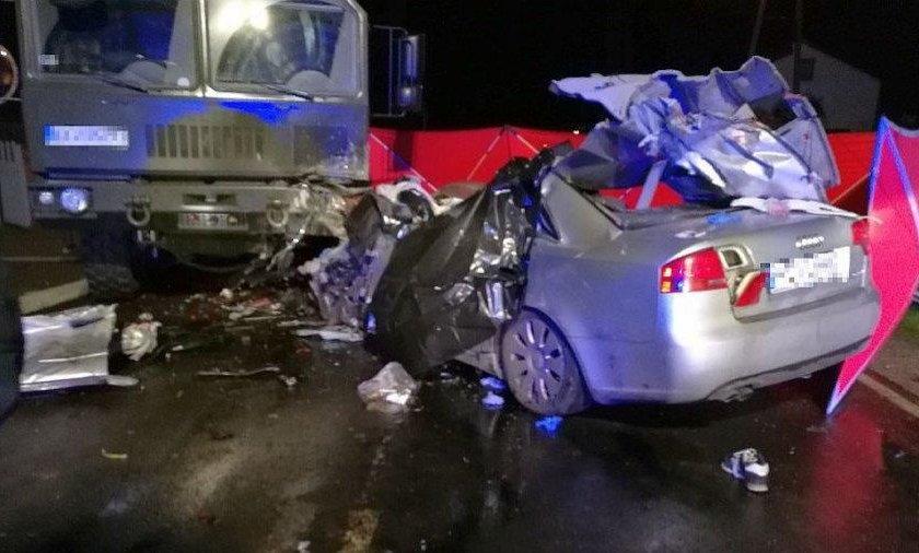 Wypadek w Bojanowie