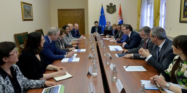 Sa današnjeg sastanka predstavnika Svetske banke i premijera Vučića