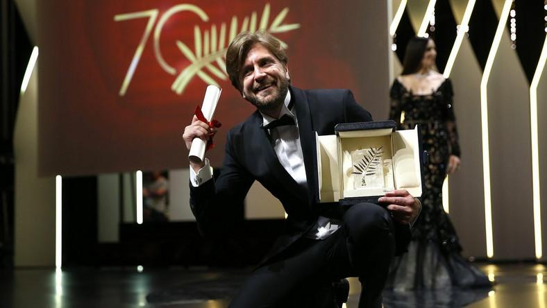 Ruben Oestlund ze Złotą Palmą