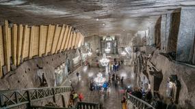 Trwają prace w kopalni soli Wieliczka