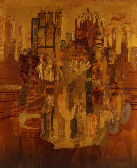 Peđa Milosavljević (1908-1987), New York, 1968. Ulje na platnu, 158x128 cm, 16.000 €