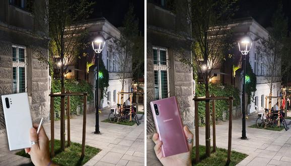 Fotorafija nastala sa Galaxy Note 10+ (levo) i fotografija nastala sa Galaxy Note10 (desno)