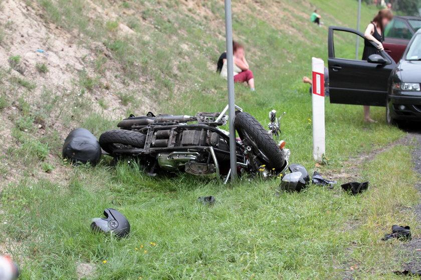 Wypadek na S3 pod Zieloną Górą