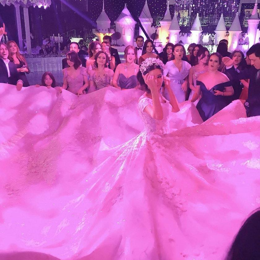 Ślub Ganyi Usmanovej - córki rosyjskiego oligarchy