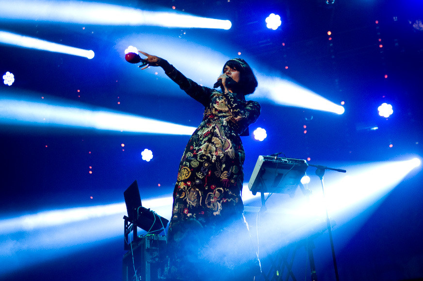 Bat For Lashes (fot. Monika Stolarska / Onet)