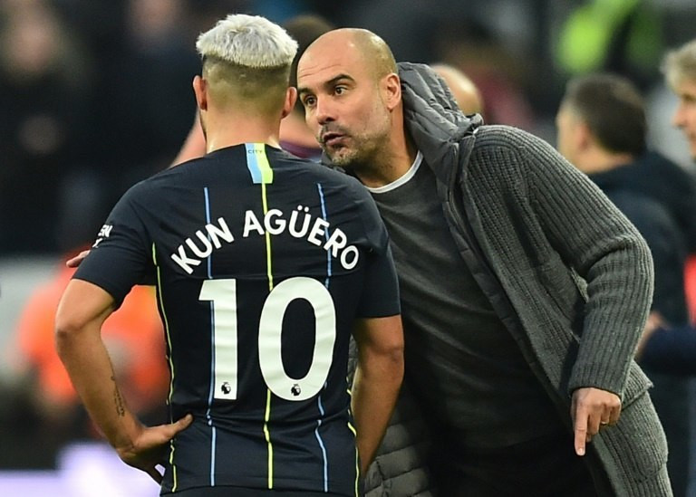 Sergio Aguero is Manchester City's top scorer this season