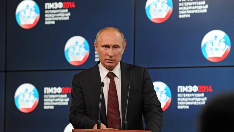 Putin jeszcze nie zdecydował czy pogratuluje Poroszence
