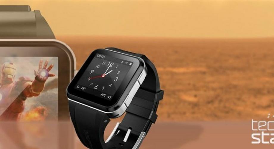 GEAK Watch: Smartwatch mit Android 4.1 und 1-GHz-CPU