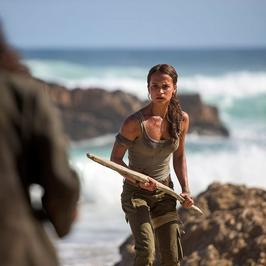 """Alicia Vikander jako Lara Croft w filmie """"Tomb Raider"""""""