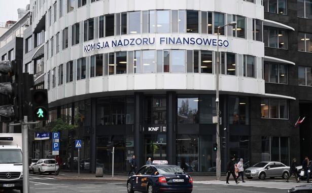 Agenci warszawskiej delegatury CBA zakończyli w nocy ze środy na czwartek czynności w stołecznych biurach Komisji Nadzoru Finansowego - potwierdził Piotr Kaczorek z wydziału komunikacji społecznej CBA.