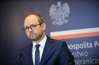 Wiceszef MSZ: Chciałbym, aby poparcie dla białoruskiej opozycji nie była przedmiotem wewnątrzpolskiej debaty