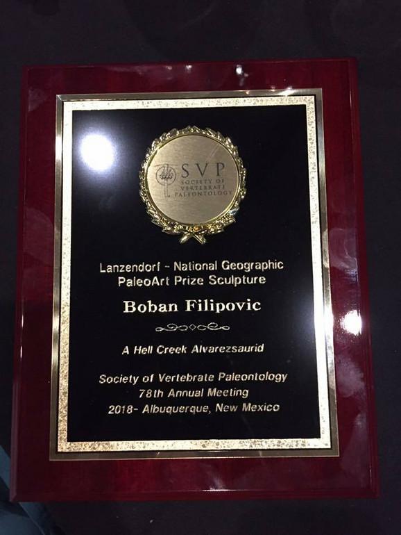 Prestižno prizanje u oblasti rekonstrukcije kičmenjaka dobio Užičanin Boban Filipović