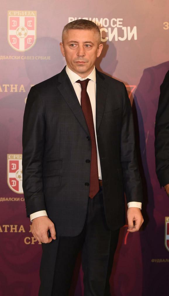 Predsednik FSS Slaviša Kokeza