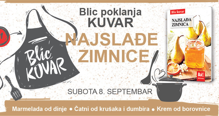 "Poklon kuvar u subotu za ""Blic"""