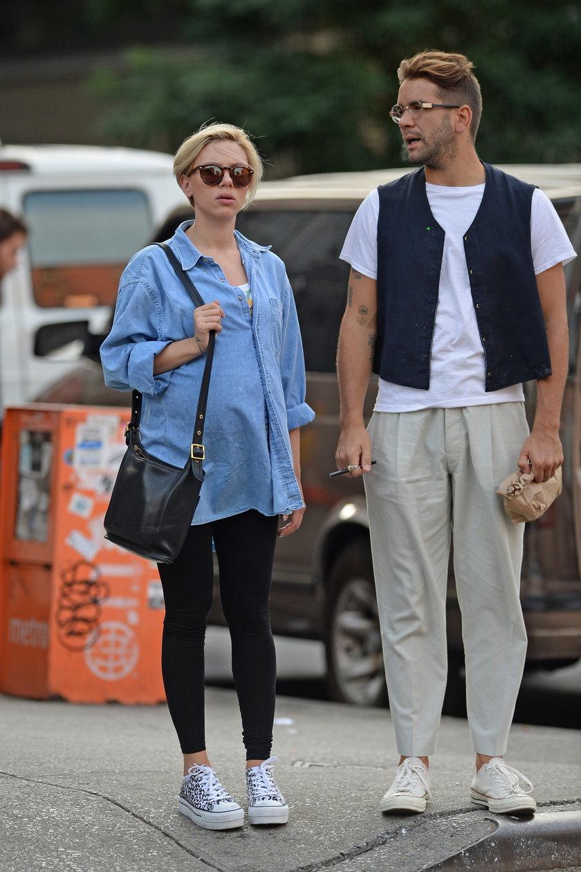 Scarlett Johansson i Romain Duriac