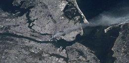 Tragedia WTC na zdjęciach z kosmosu