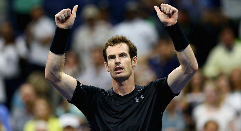 Andy Murray sought heat relief at US Open
