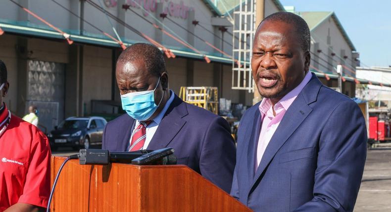 Health CS Mutahi Kagwe confirms 16 new Coronavirus cases bringing total to 262