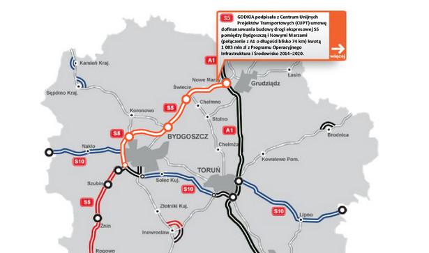 S5 - odcinek Bydgoszcz- Nowe Marzy