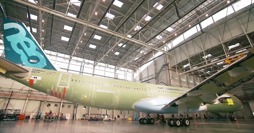 BI: Tak powstaje Airbus A330. Kawałek po kawałku