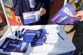 Štand Demokratske stranke Srbije