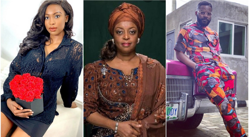 Celebrities drag former minister of petroleum resources Diezani Alison-Madueke over 'yahoo yahoo boys' comments