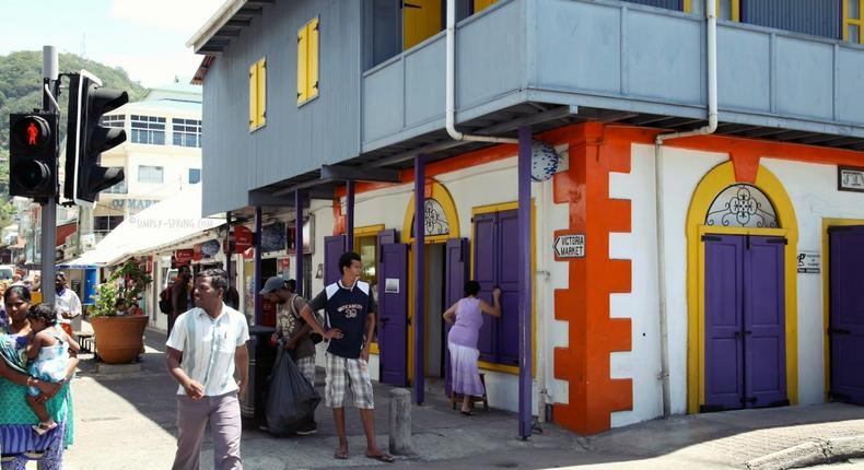 Victoria market - Seychelles (Simply Spring)