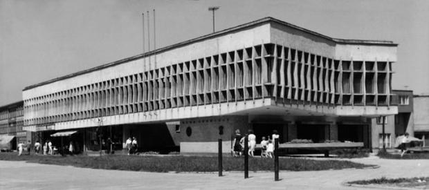 Budynek Klubu Górniczego NOT ok. 1965 r.