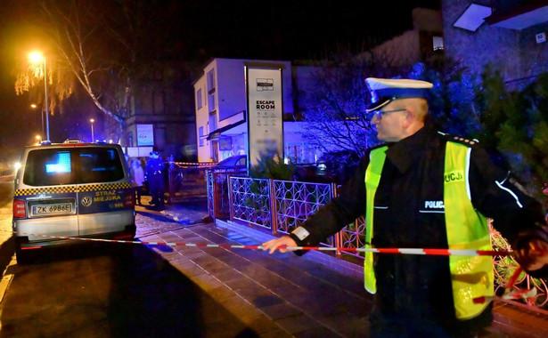 W piątek po godz. 17.00 w tzw. escape roomie w Koszalinie doszło do pożaru