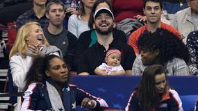 Córeczka Sereny Williams już chodzi na mecze