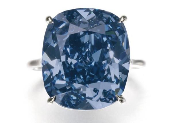 Diament Blue Moon, źródło: Sotheby's