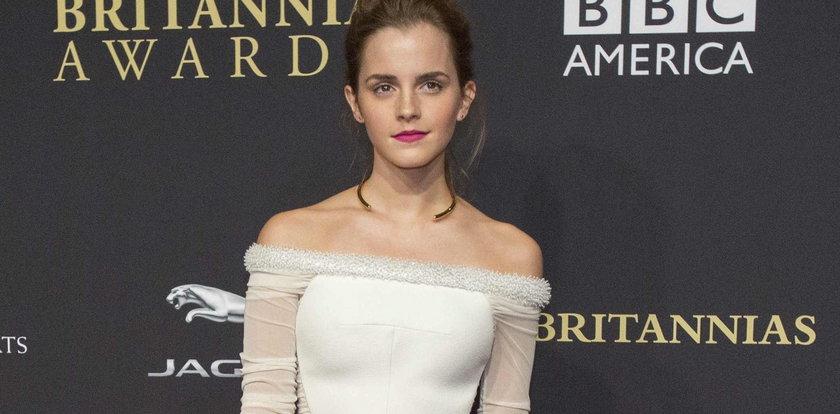 Stylizacja dnia: Emma Watson w kolorach B&W
