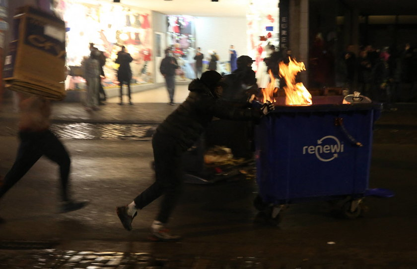 Demonstracje w Brukseli