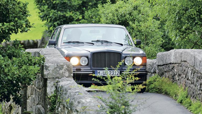Bentley Turbo R - klasyk z najwyższej półki